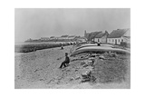 Scattery Island, Kilrush, County Clare, C.1890 Lámina giclée por Robert French
