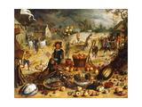 The Four Seasons - Autumn Giclée-Druck von Sebastian Vrancx
