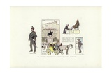 An Artist's Wanderings, at Dijon, Lyons, Toulon Giclee Print by Phil May