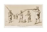 Prussian Landwehr, 1813-15 Giclee-trykk av Raphael Jacquemin