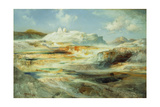 Jupiter Terrace, Yellowstone, 1893 Giclee Print by Thomas Moran