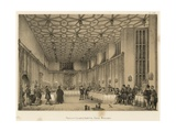 Presence Chamber, Hampton Court, Middlesex Giclee Print by Joseph Nash