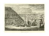 A Sermon in the Coliseum Giclee Print
