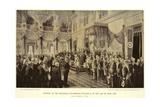 Opening of the Reichstag Giclee Print by Anton Alexander von Werner