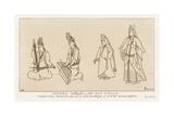 Turkish Women from the 15th-16th Centuries Giclee-trykk av Raphael Jacquemin