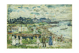 The Cove Giclee Print by Maurice Brazil Prendergast