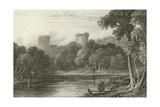 Bothwell Castle, River Clyde Giclee Print by Joseph Bartholomew Kidd