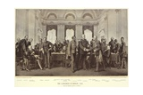 The Congress at Berlin Giclee Print by Anton Alexander von Werner