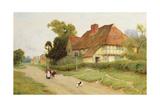 The Village Inn Giclee Print by Arthur Claude Strachan