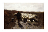 Return of the Flock Giclee Print by Anton Mauve