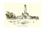 Lincoln's Tomb and Monument Giclee Print