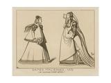 Italian Women, 1572 Giclee Print by Hans Weigel