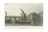 Westminster Bridge, 1745 Giclee Print