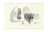 Sketches at a Spanish Carnival Giclee Print by Phil May