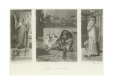 Homer a Mendicant Giclee Print by Jean Jules Antoine Lecomte du Nouy