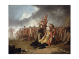 The Death of General Wolfe, 1763 Giclee Print by Edward Penny