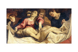 The Pieta Giclee Print by Lodovico Carracci