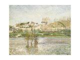 Flood in Pontoise, 1882 Reproduction procédé giclée par Camille Pissarro
