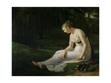 Melancholy Giclee Print by Constance Marie Charpentier