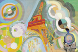 Air, Iron and Water, Study, 1937 Reproduction procédé giclée par Robert Delaunay
