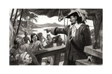 Disaster in Darien Giclee Print by Ralph Bruce