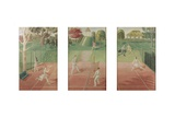 Tennis, C.1932 Giclee Print by Eric Ravilious
