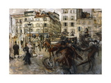 La Place Pigalle, 1874 Giclee Print by Giovanni Boldini