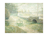 The White Horse Giclee Print by Ernest Lawson
