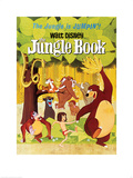 The Jungle Book - Jumpin' Plakat