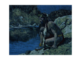 Evening Solitude, 1925 Giclee Print by Eanger Irving Couse