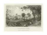 Coggeshall, Essex Giclee Print by William Henry Bartlett