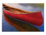 Canoe on Thomson Pond Prints