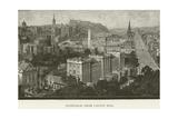 Edinburgh, from Calton Hill Giclee Print
