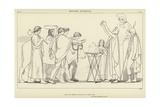 Nestor's Sacrifice Giclee Print by John Flaxman