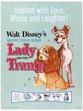 Lady and The Tramp - Love, Music and Laughter Masterprint