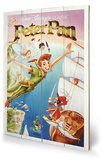 Peter Pan - Flying Wood Sign