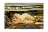 Nude Woman Sleeping; Nu Allonge Giclee Print by Henri Lebasque