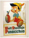Pinocchio - Conscience Masterprint