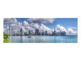 City Skyline Panorama Prints by Nish Nalbandian