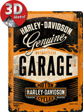 Harley-Davidson Garage Plechová cedule