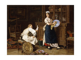 Spring Cleaning, 1876 Giclee Print by Evert-jan Boks