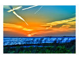 Wings and Jets Sunset Prints by Toni Vaughan