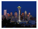 Space Needle Art by Michael Polk