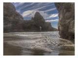 Myers Creek Beach 3 Prints by Michael Polk