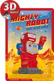 Mighty Robot Plakietka emaliowana