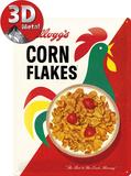 Kellogg's Corn Flakes Cornelius Plaque en métal