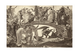 The Bridge of Life Giclee Print by Walter Crane