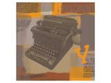 Vintage Typewriter I Posters by  Yashna