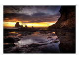 Still Tide Pool Sunset Prints by Nish Nalbandian