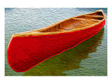 Canoe on Lake Carr Prints